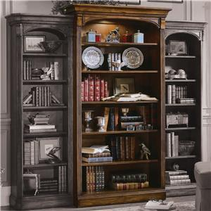 Open Bookcase with Six Shelves