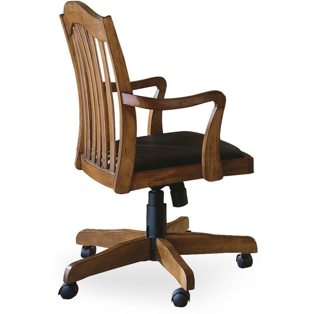 Brookhaven Desk Chair by Hooker Furniture at Mueller Furniture