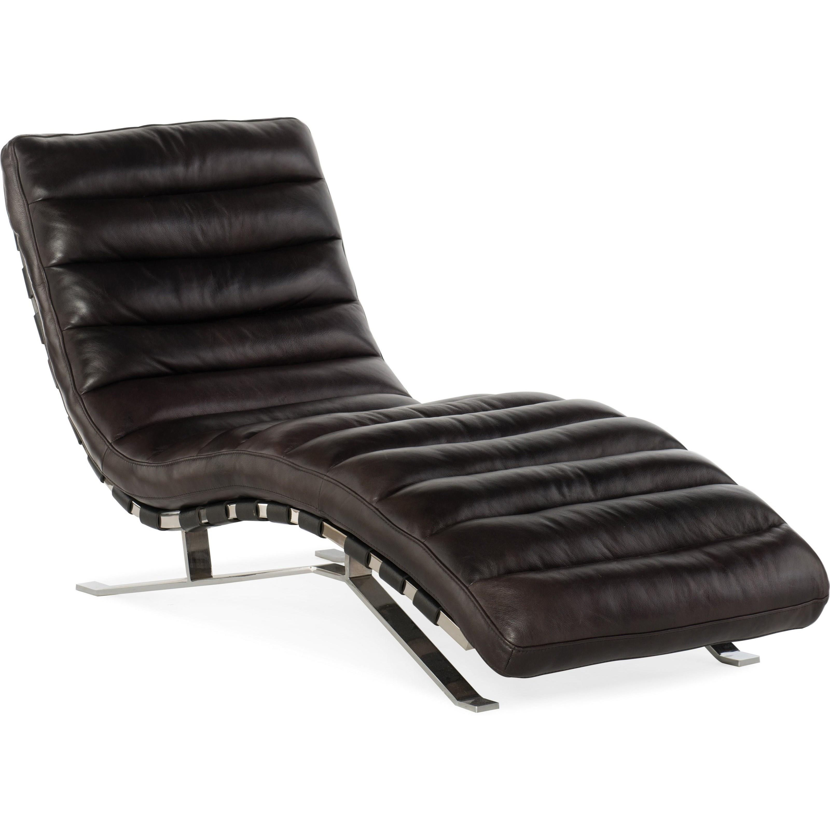 Caddock Chaise without Arm by Hooker Furniture at Miller Waldrop Furniture and Decor