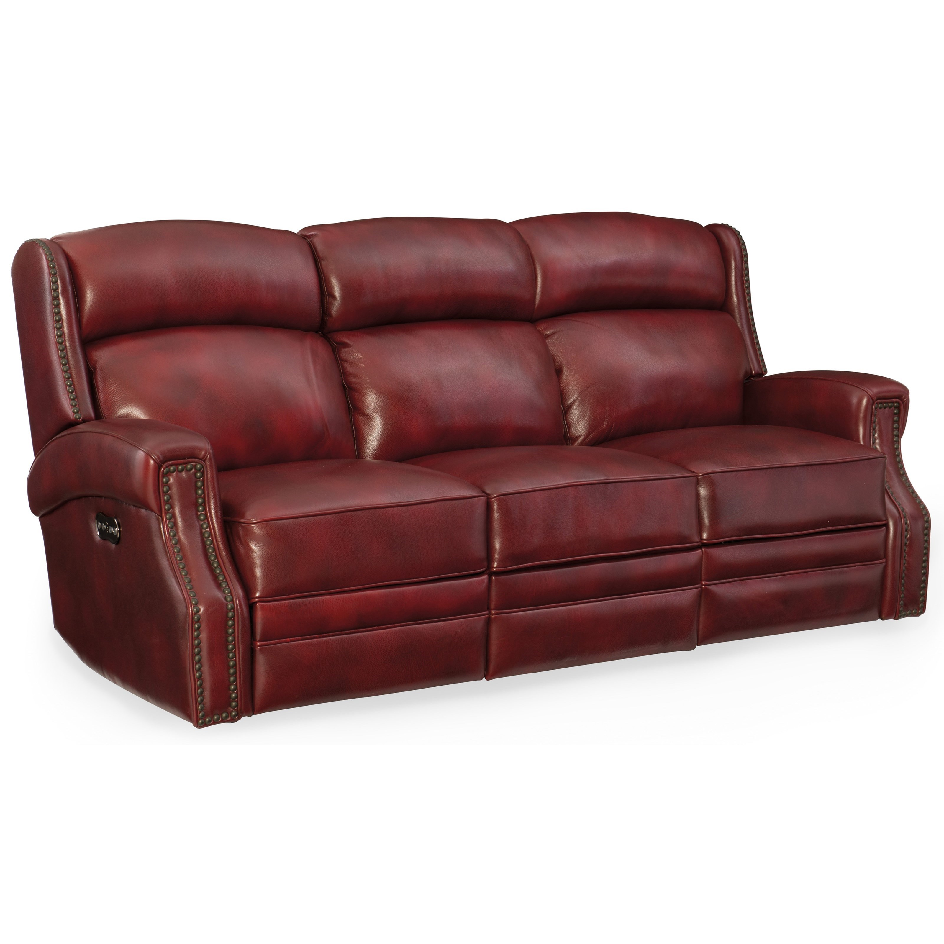 Carlisle Power Motion Sofa with Power Headrest by Hooker Furniture at Baer's Furniture