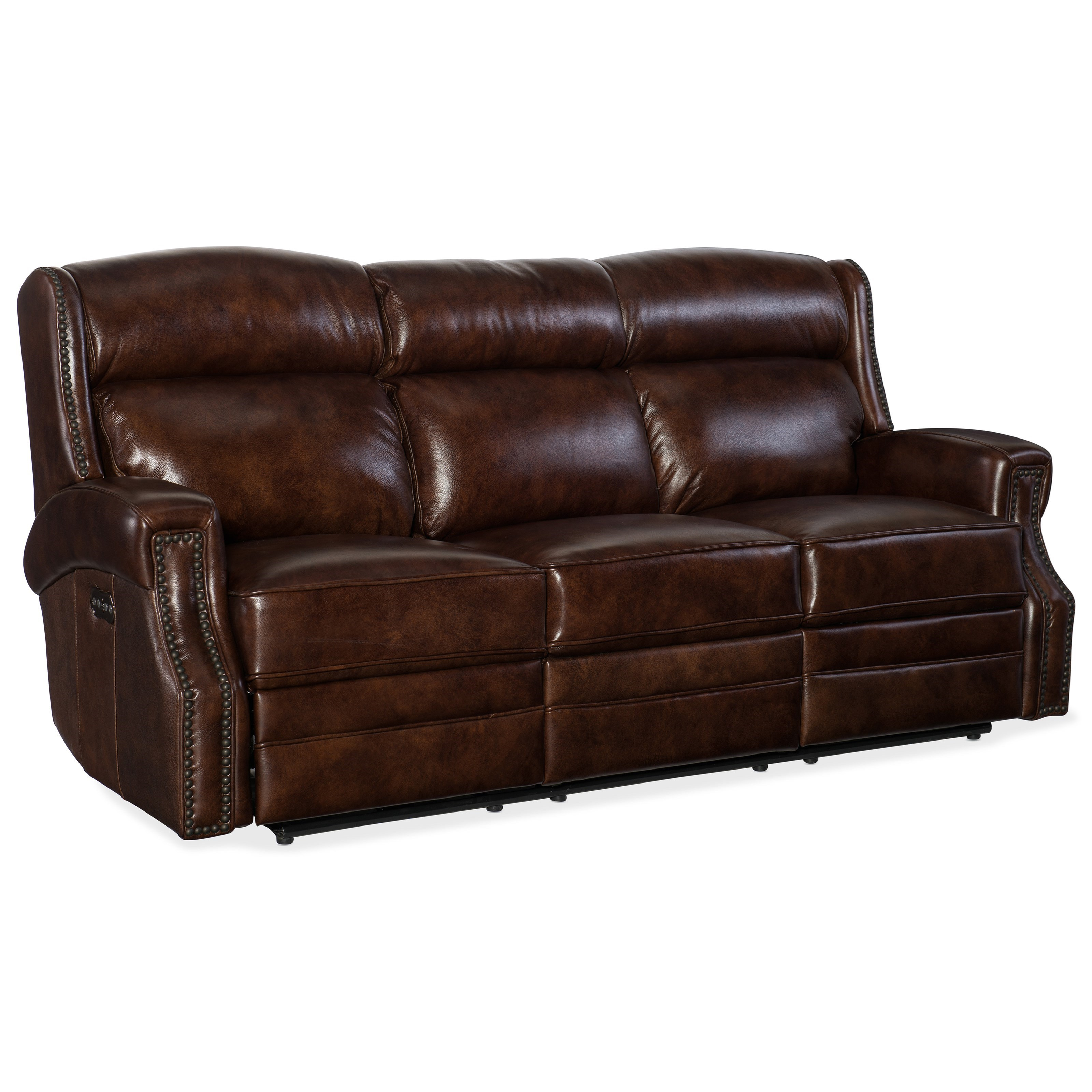 Carlisle Power Motion Sofa with Power Headrest by Hooker Furniture at Zak's Home
