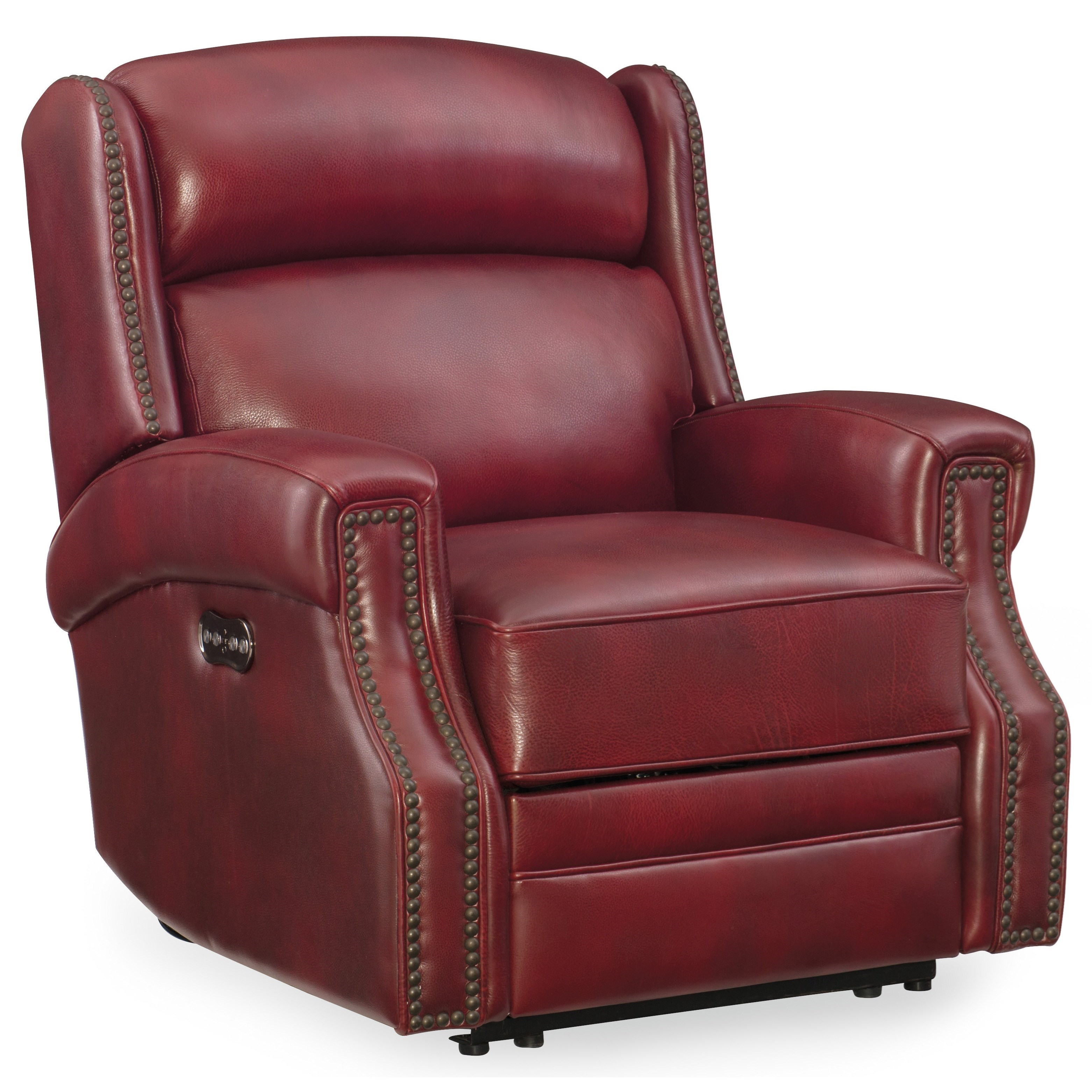 Carlisle Power Recliner with Power Headrest by Hooker Furniture at Baer's Furniture