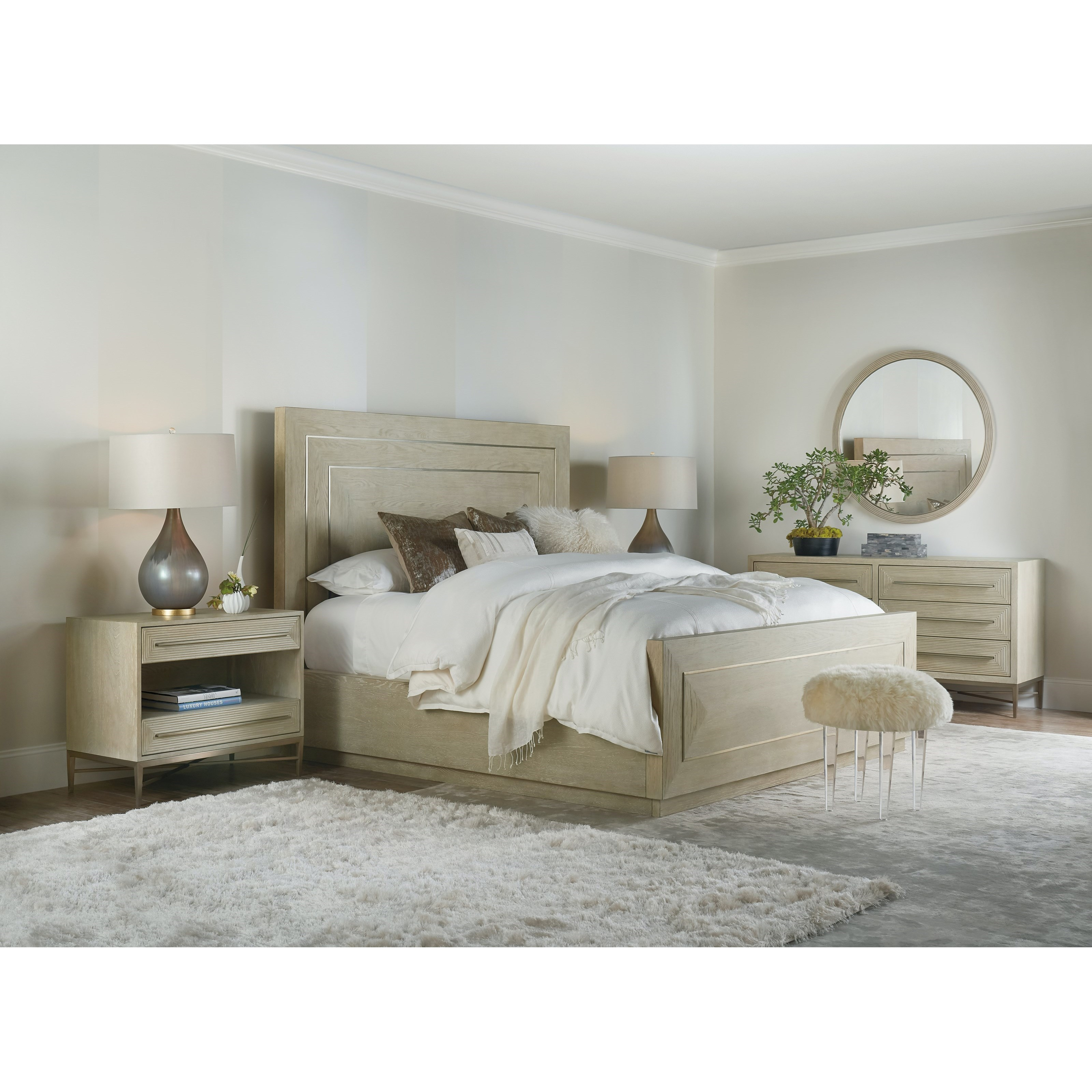 Cascade King Bedroom Group by Hooker Furniture at Miller Waldrop Furniture and Decor