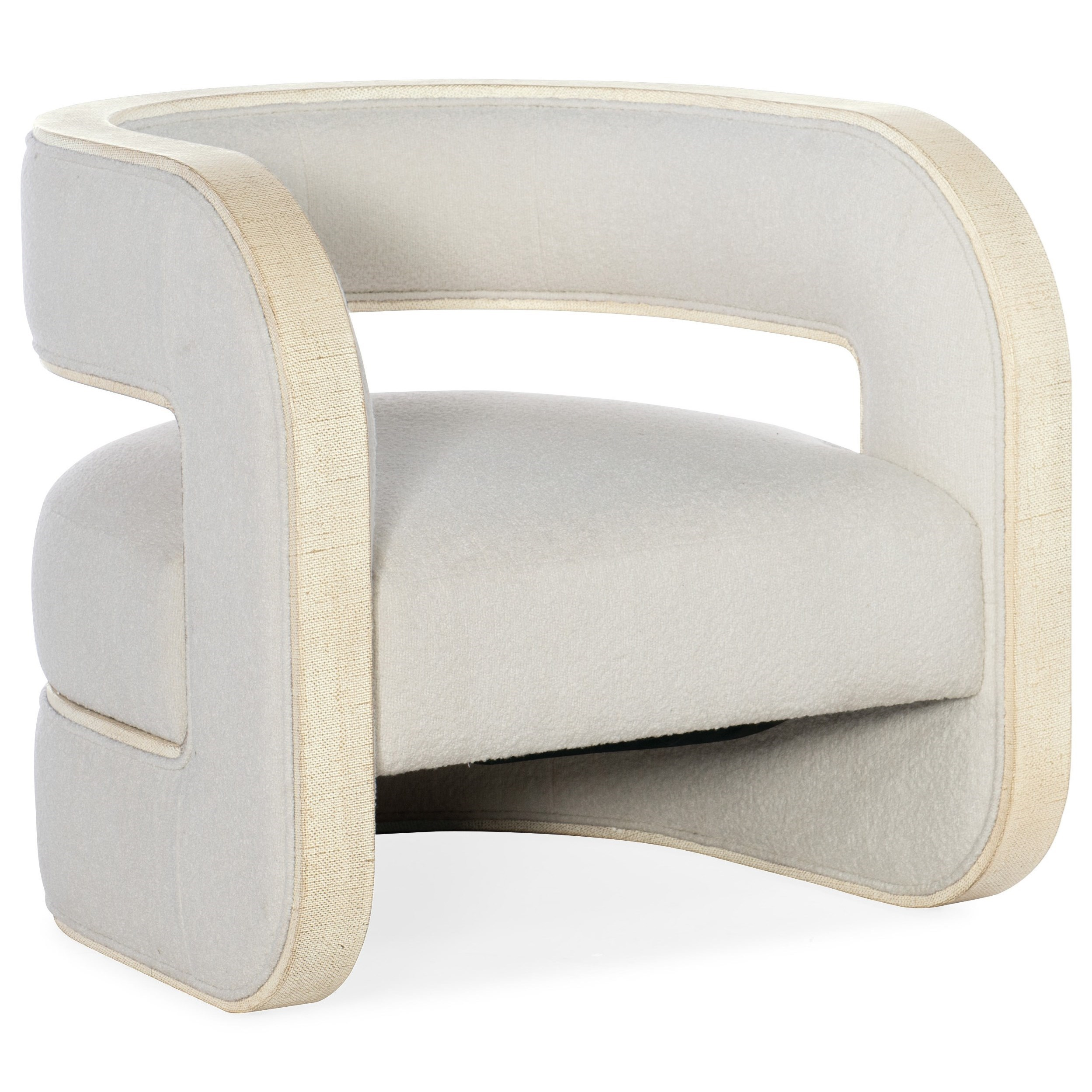 Cascade Accent Chair by Hooker Furniture at Miller Waldrop Furniture and Decor