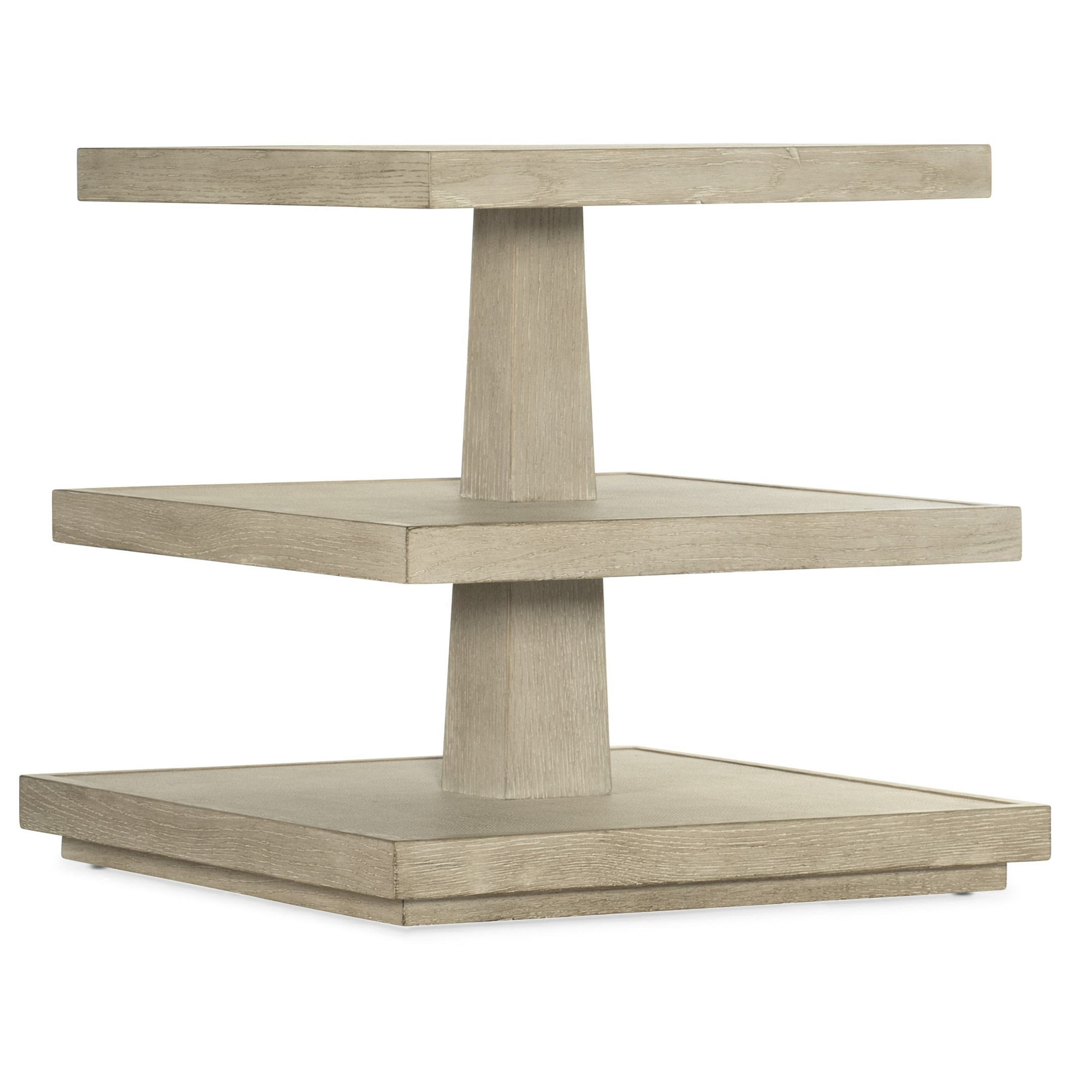 Cascade End Table by Hooker Furniture at Miller Waldrop Furniture and Decor