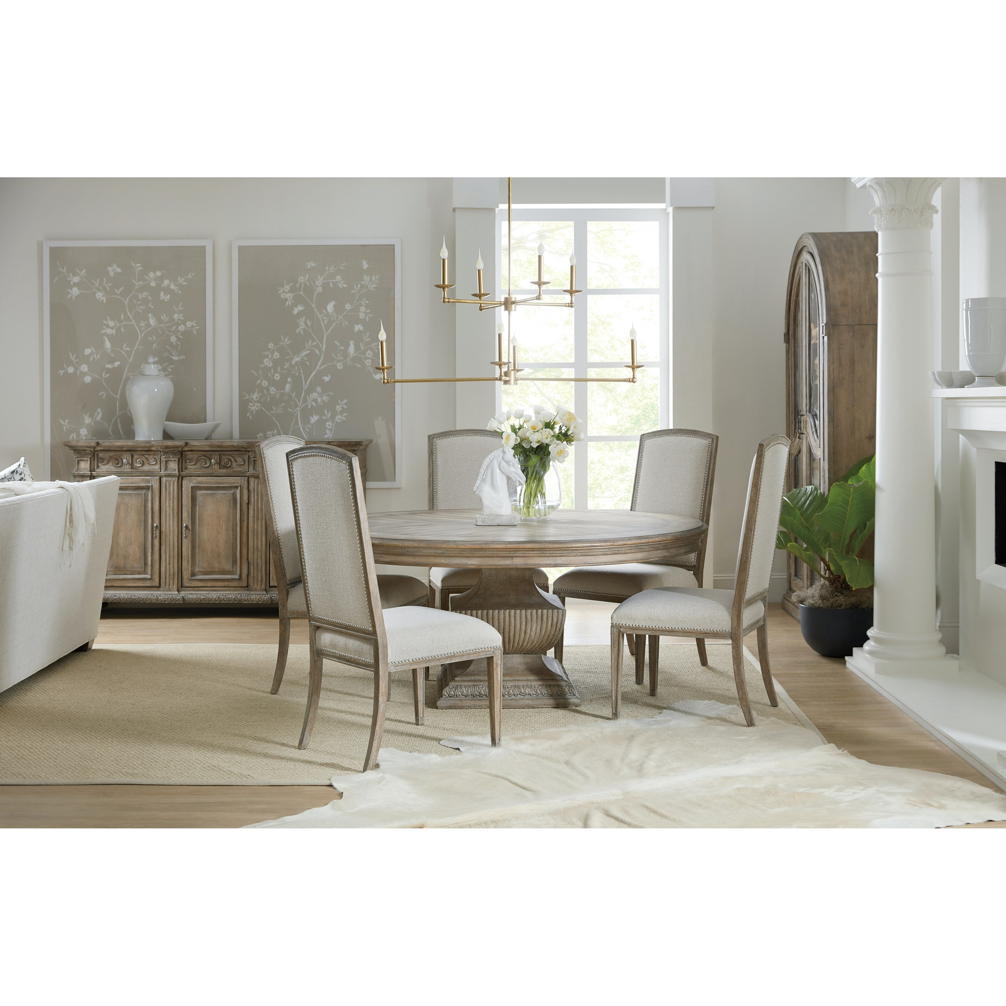 Castella Formal Dining Room Group by Hooker Furniture at Alison Craig Home Furnishings