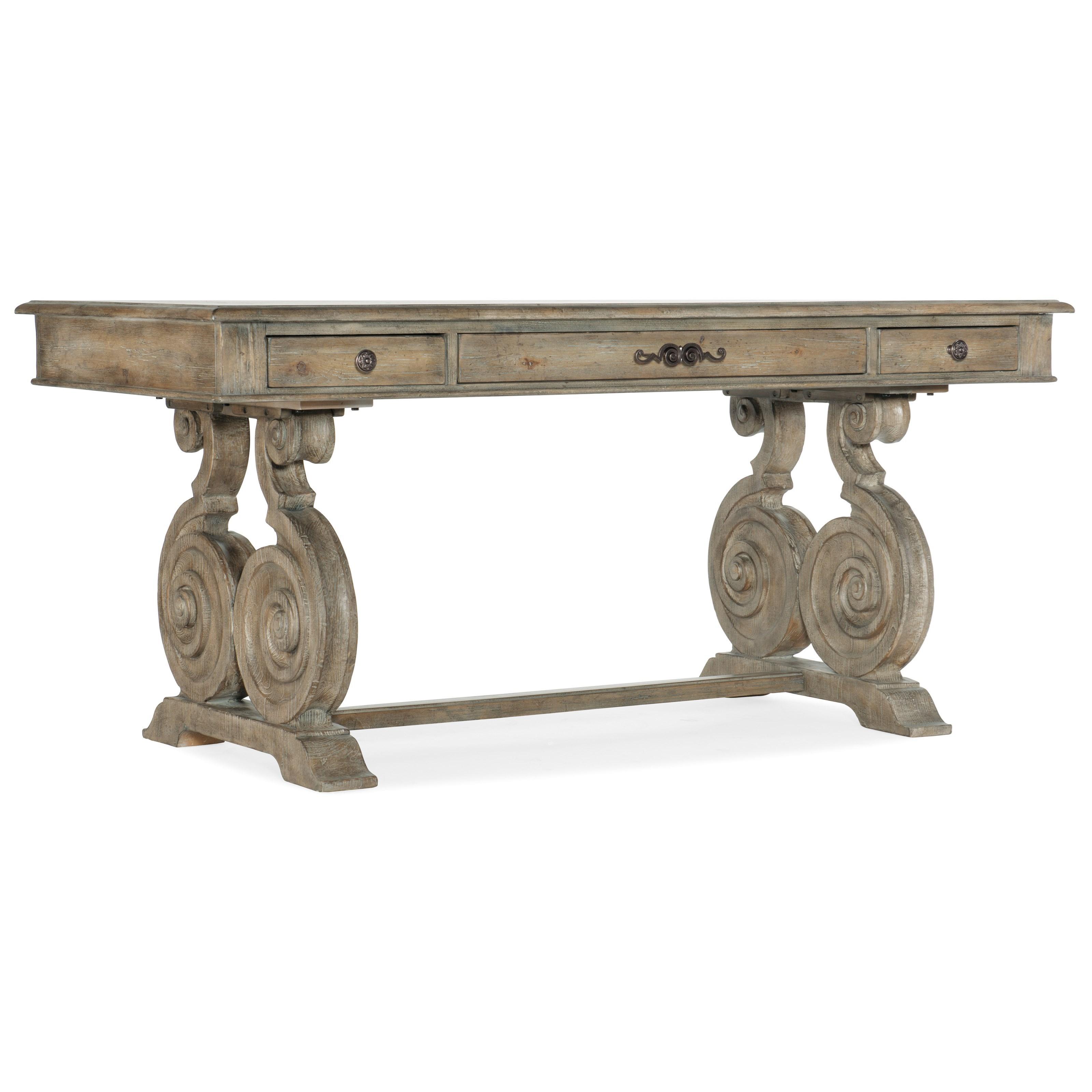 Castella Writing Desk by Hooker Furniture at Baer's Furniture