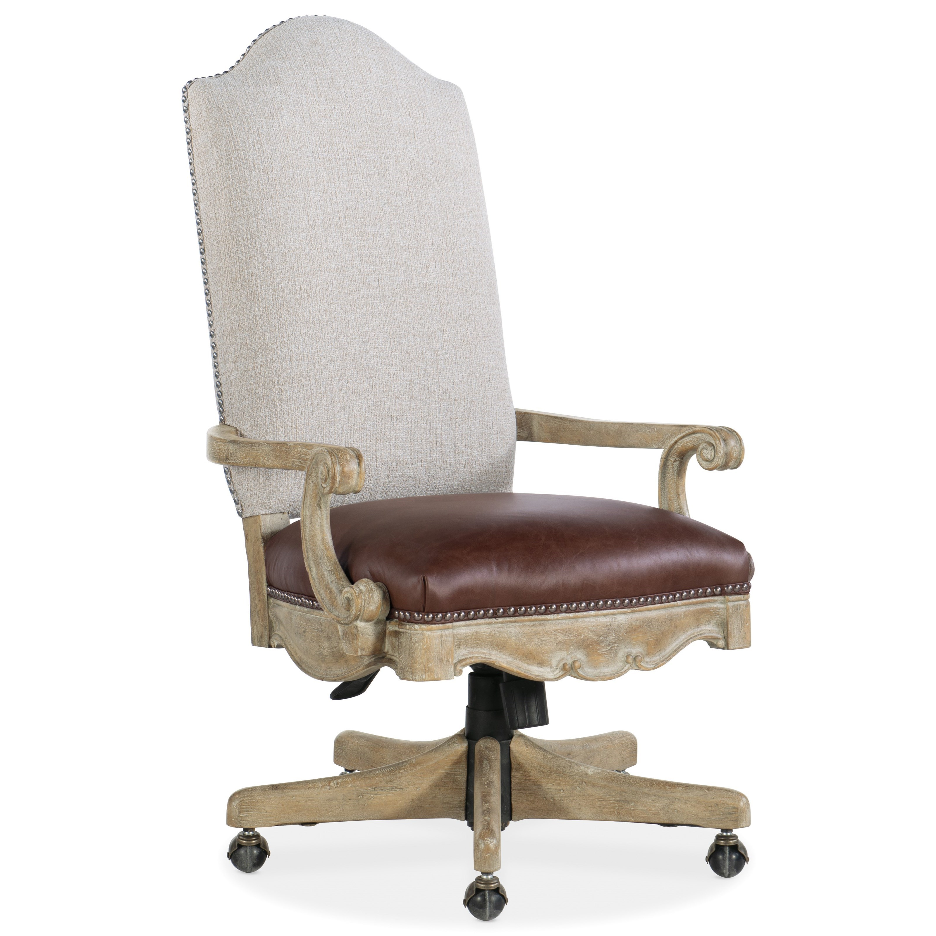 Castella Tilt Swivel Chair by Hooker Furniture at Alison Craig Home Furnishings