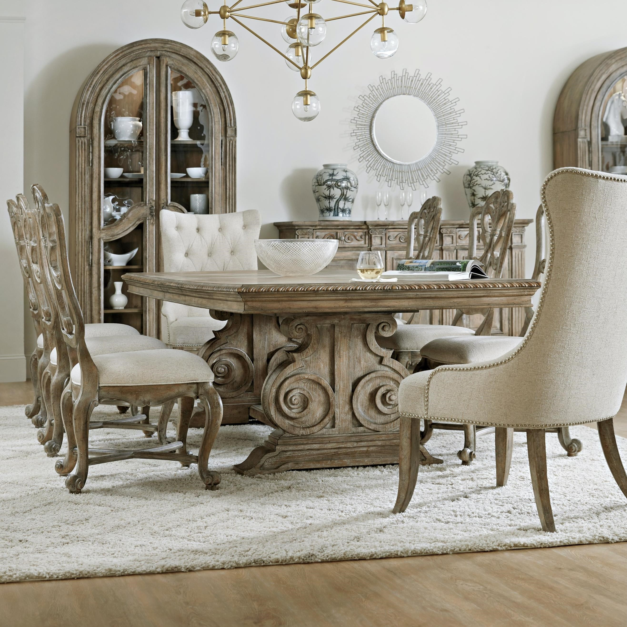 Castella 9-Piece Dining Table and Chair Set by Hooker Furniture at Baer's Furniture