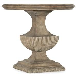 Urn Pedestal Nightstand