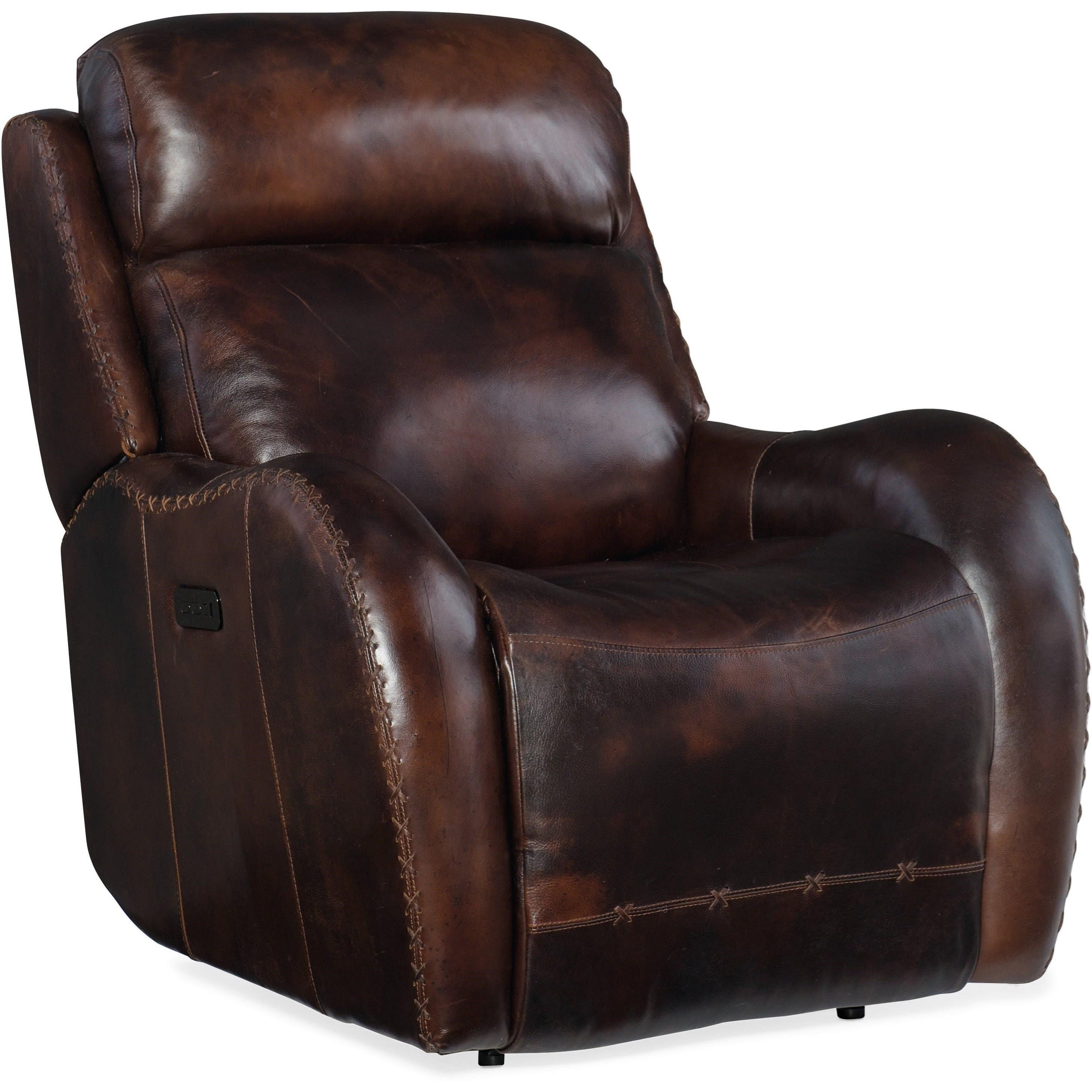 Chambers Power Recliner with Power Headrest by Hooker Furniture at Baer's Furniture