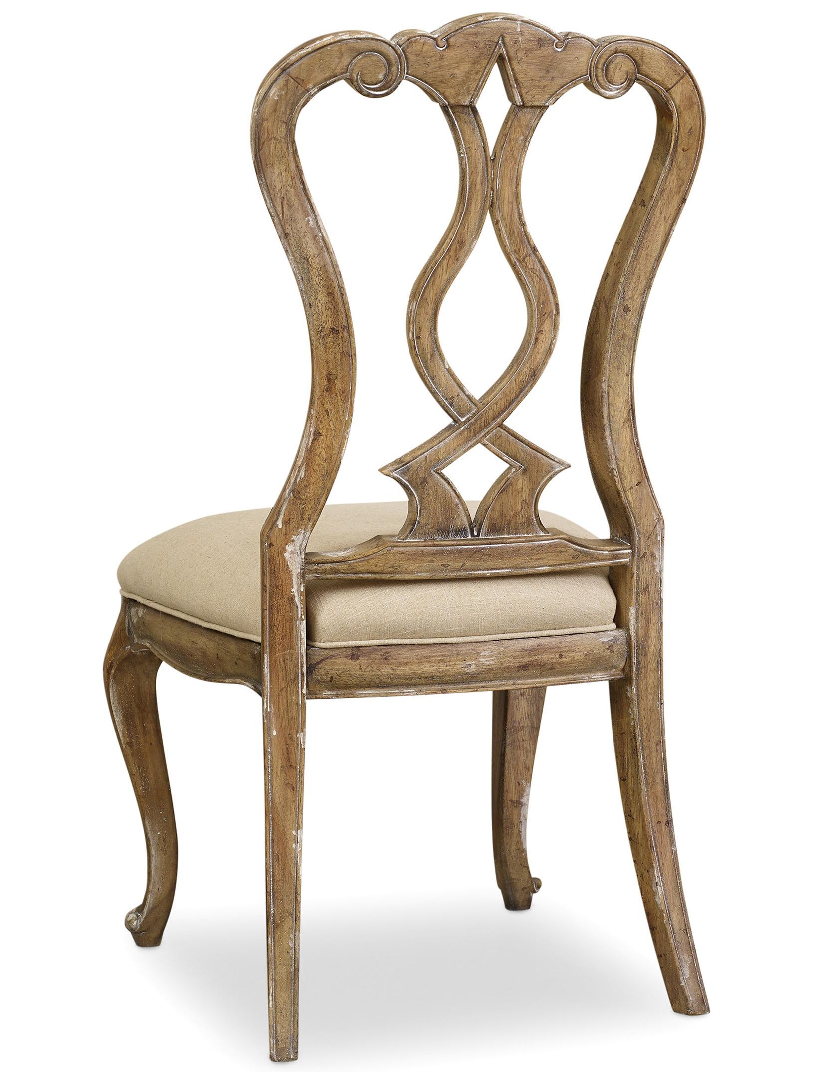 Chatelet Splatback Side Chair by Hooker Furniture at Miller Waldrop Furniture and Decor