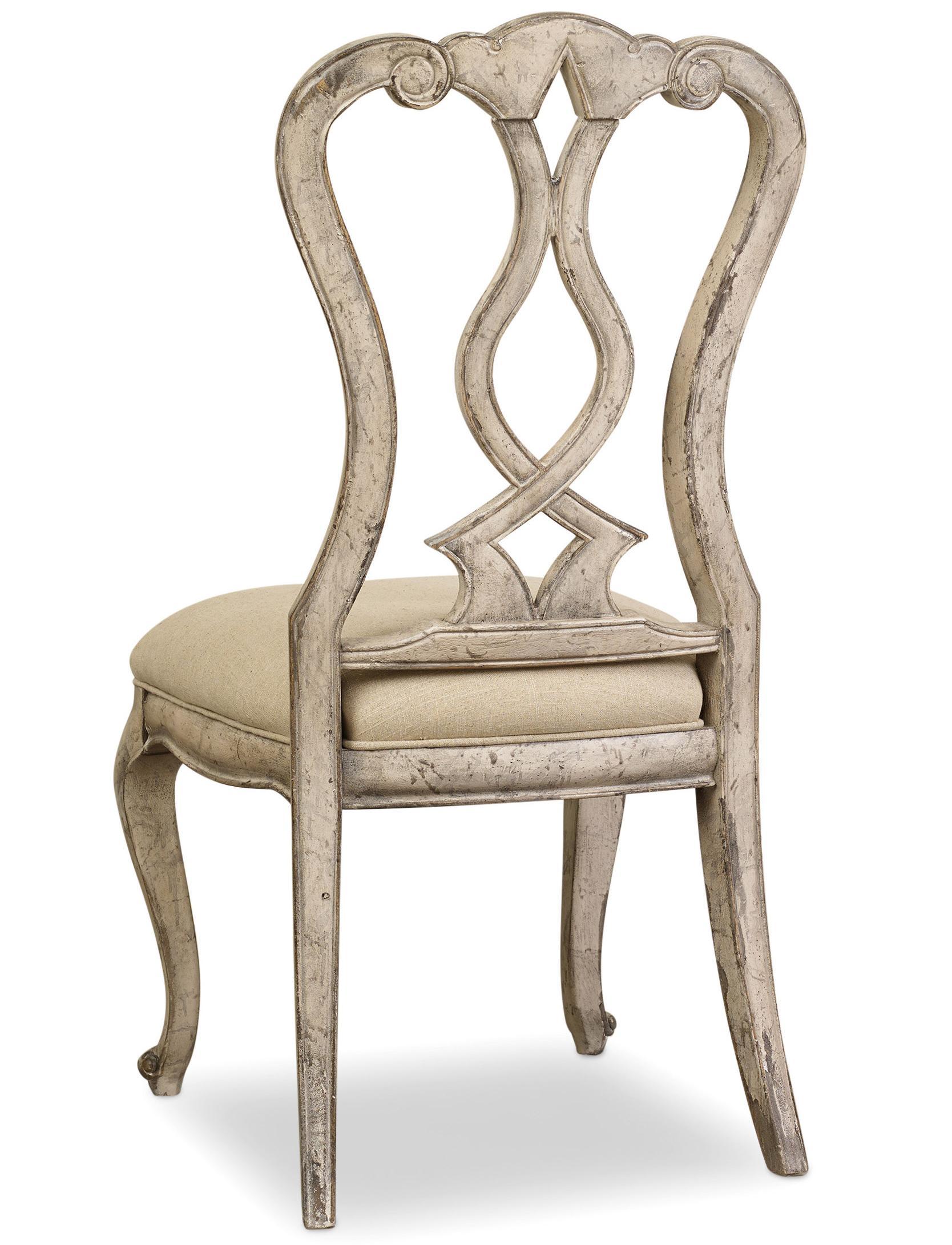 Chatelet Splatback Side Chair by Hooker Furniture at Stoney Creek Furniture