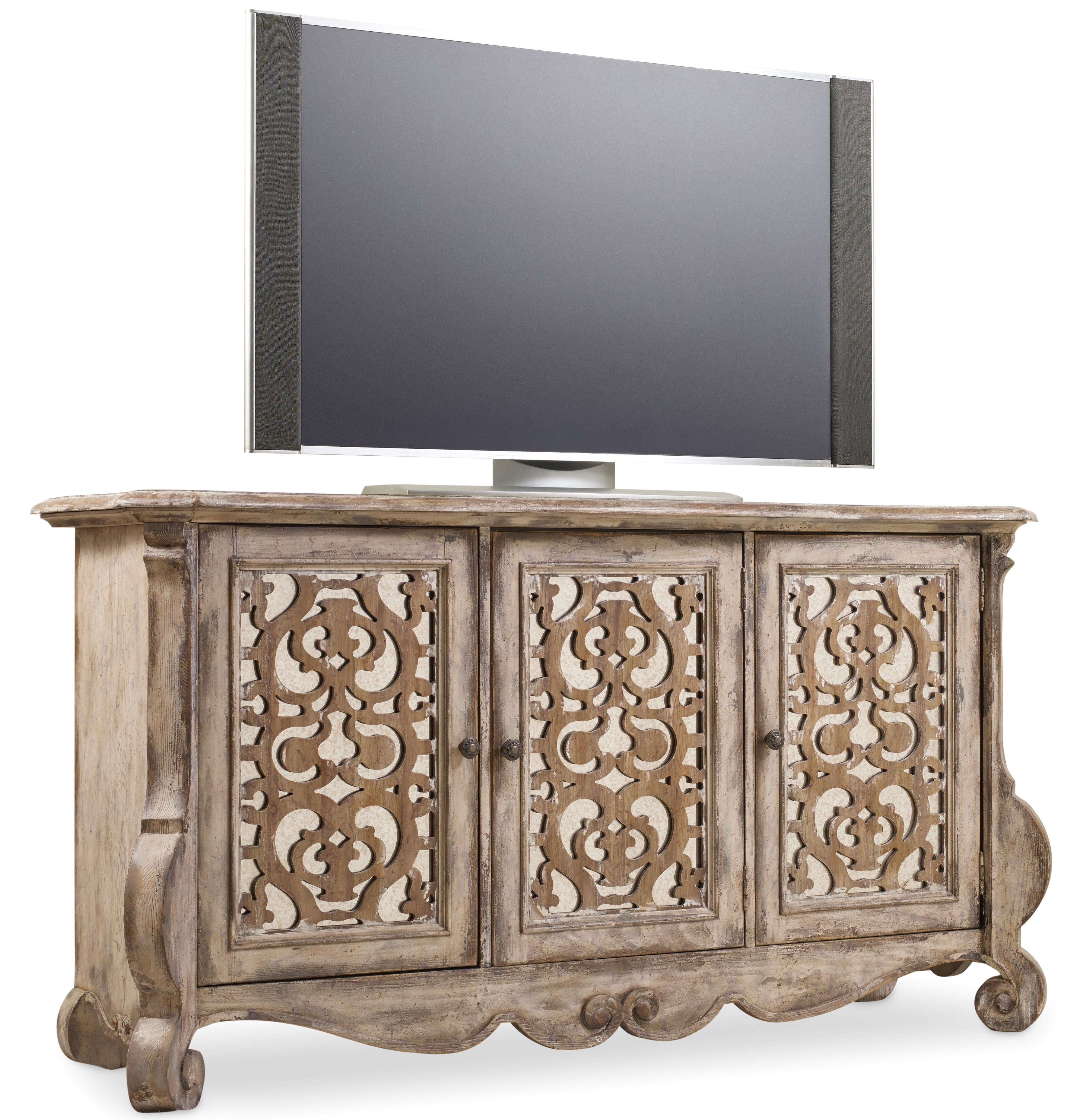 Chatelet Entertainment Console by Hooker Furniture at Baer's Furniture