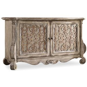Buffet with Fretwork Doors