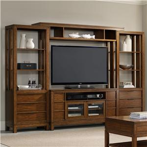 Hooker Furniture Chatham 4 Piece Entertainment Center