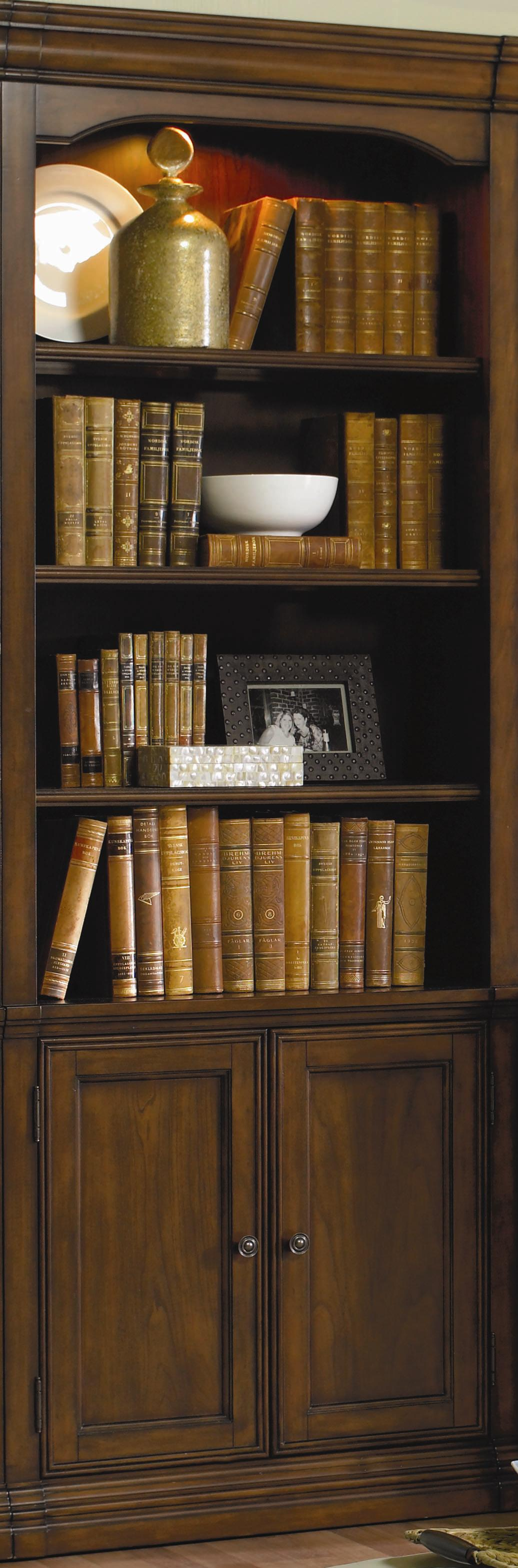 Cherry Creek  Wall Storage Cabinet by Hooker Furniture at Miller Waldrop Furniture and Decor