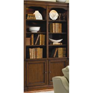 Traditional 52 inch Wall Bookcase