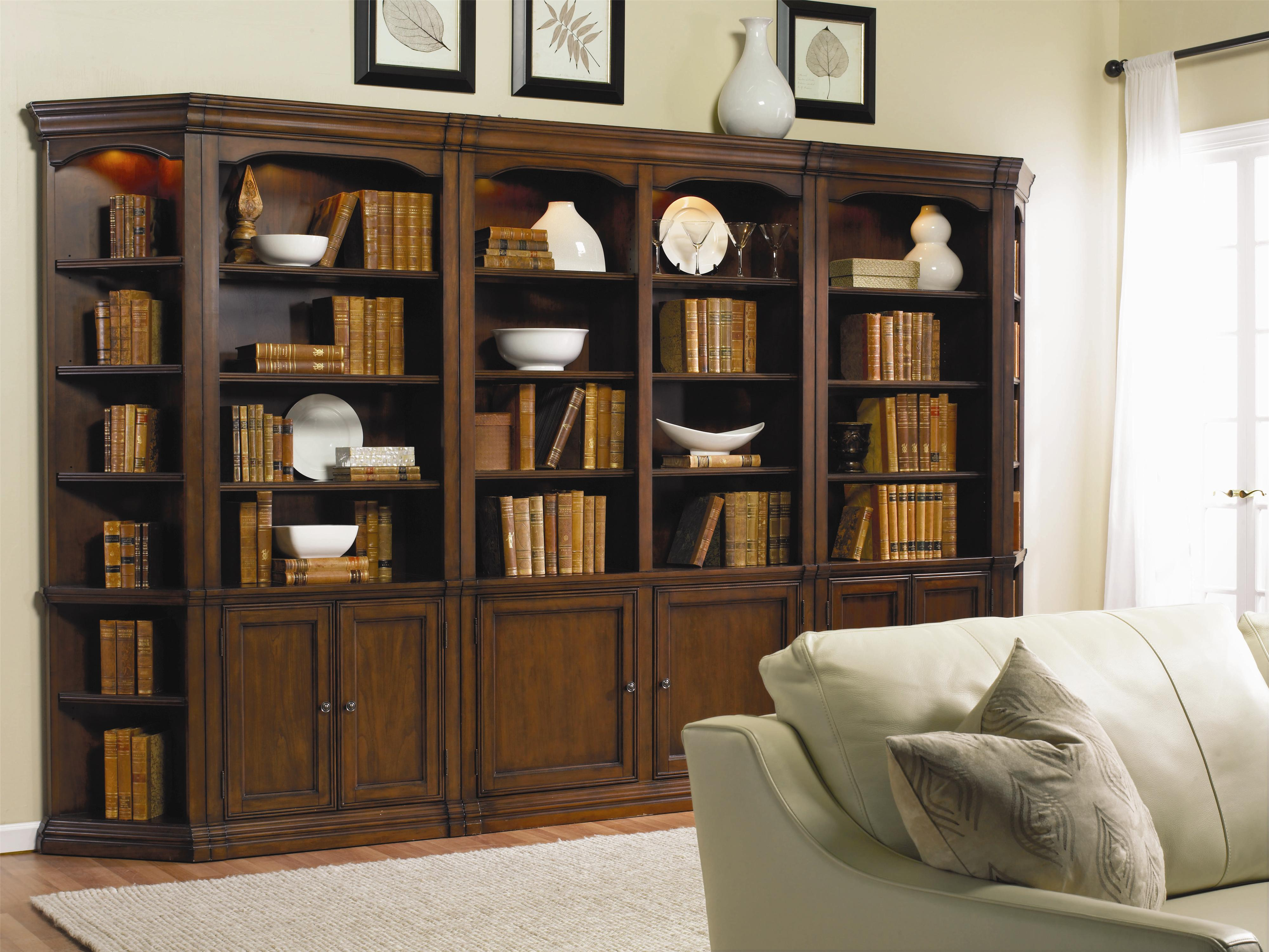 Cherry Creek  Modular Wall System by Hooker Furniture at Miller Waldrop Furniture and Decor