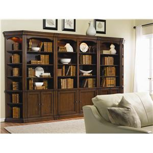 Traditional Bookcase Modular Wall System