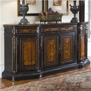 Traditional Hand Painted Credenza