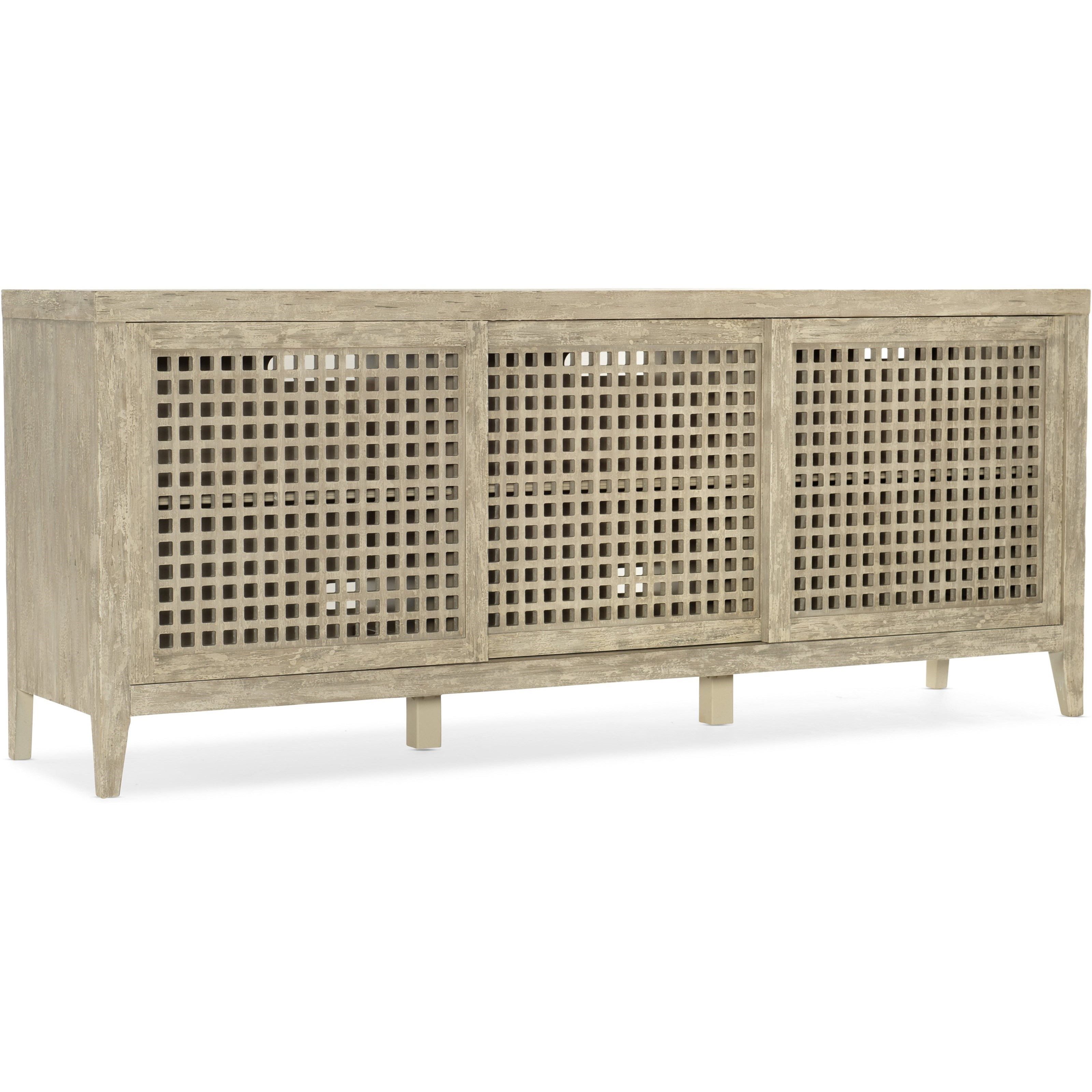 Ciao Bella Entertainment Console by Hooker Furniture at Miller Waldrop Furniture and Decor