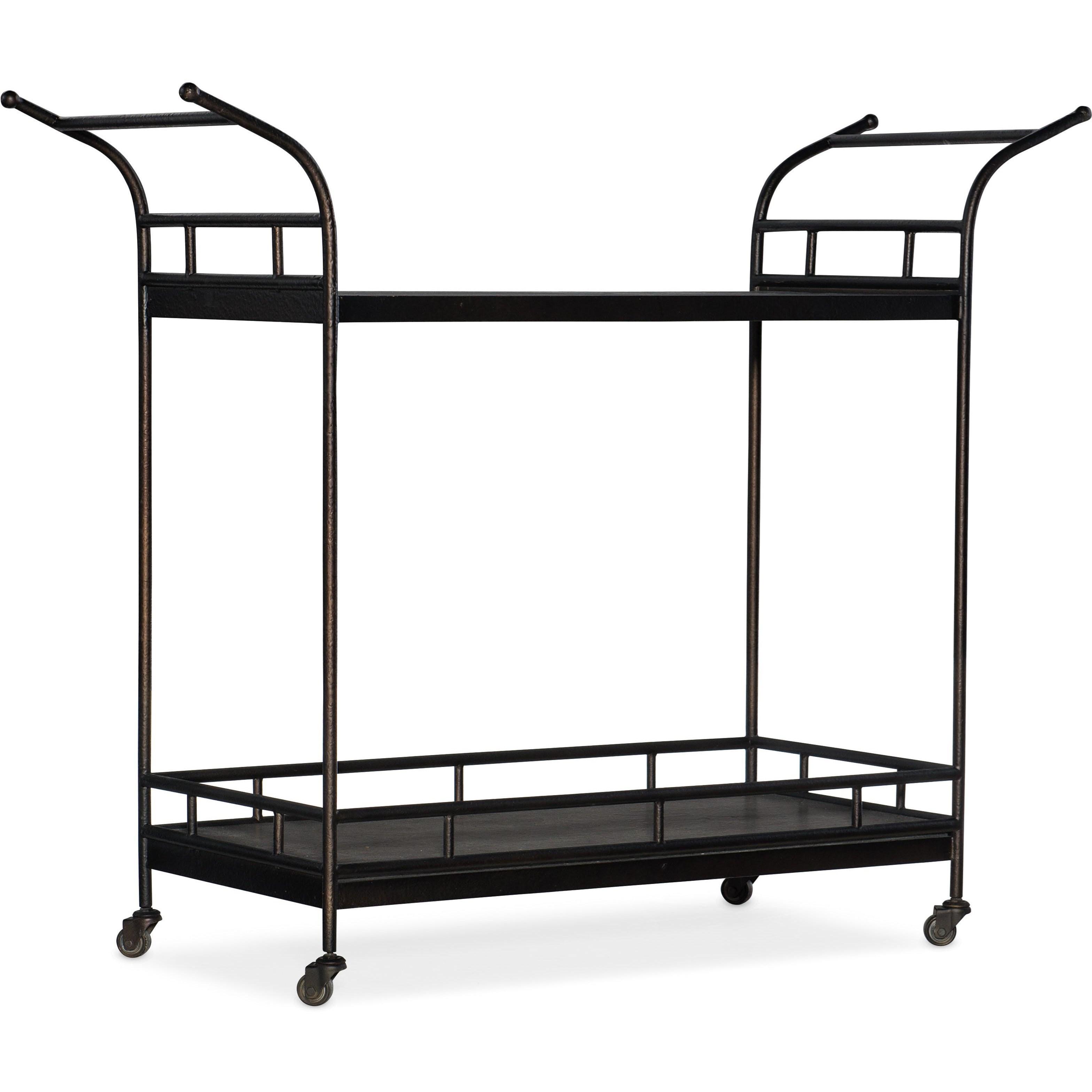 Ciao Bella Bar Cart by Hooker Furniture at Baer's Furniture