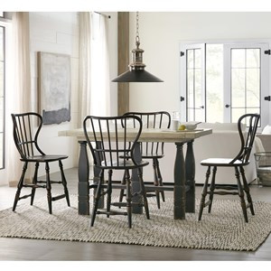 5-Piece Counter Pub Table Set