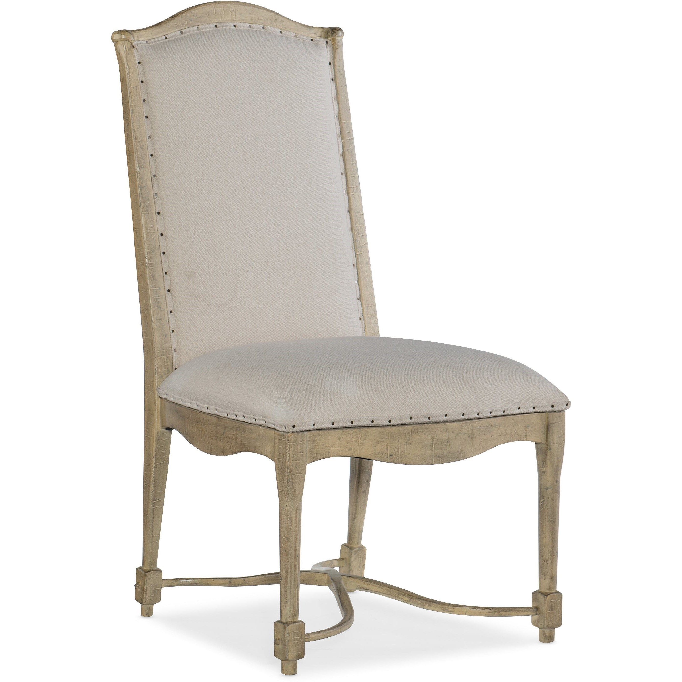 Ciao Bella Upholstered Back Side Chair by Hooker Furniture at Baer's Furniture
