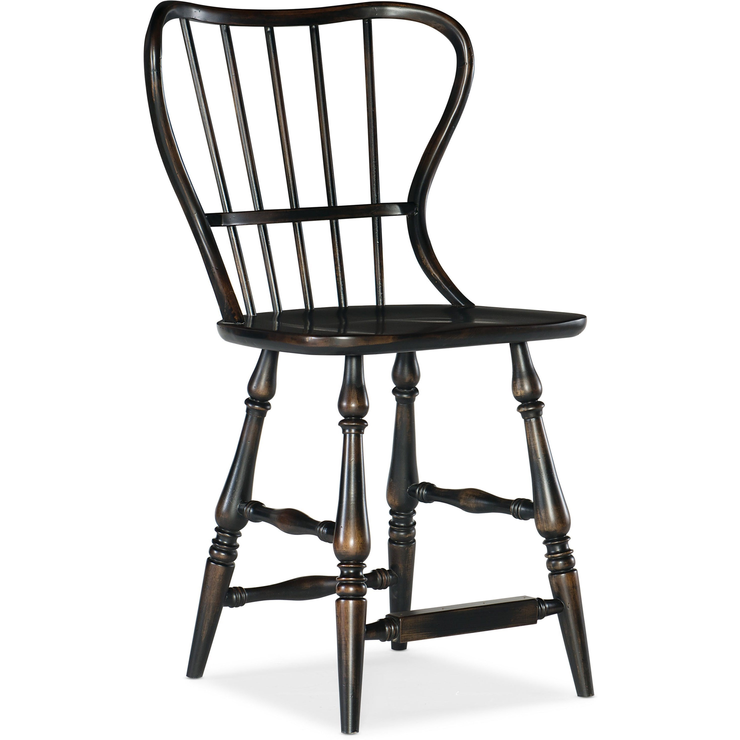 Ciao Bella Spindle Back Counter Stool by Hooker Furniture at Stoney Creek Furniture