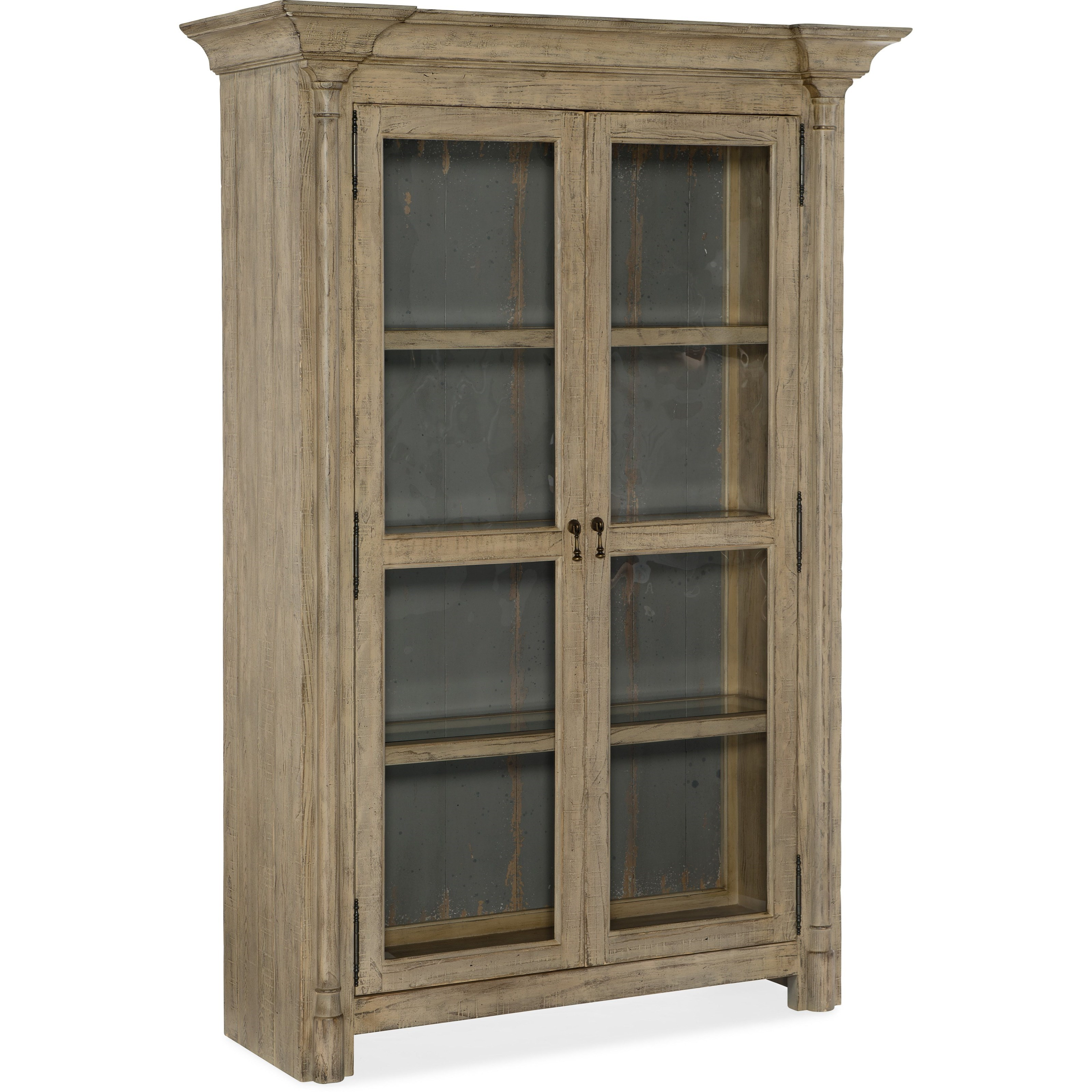 Ciao Bella Display Cabinet by Hooker Furniture at Miller Waldrop Furniture and Decor