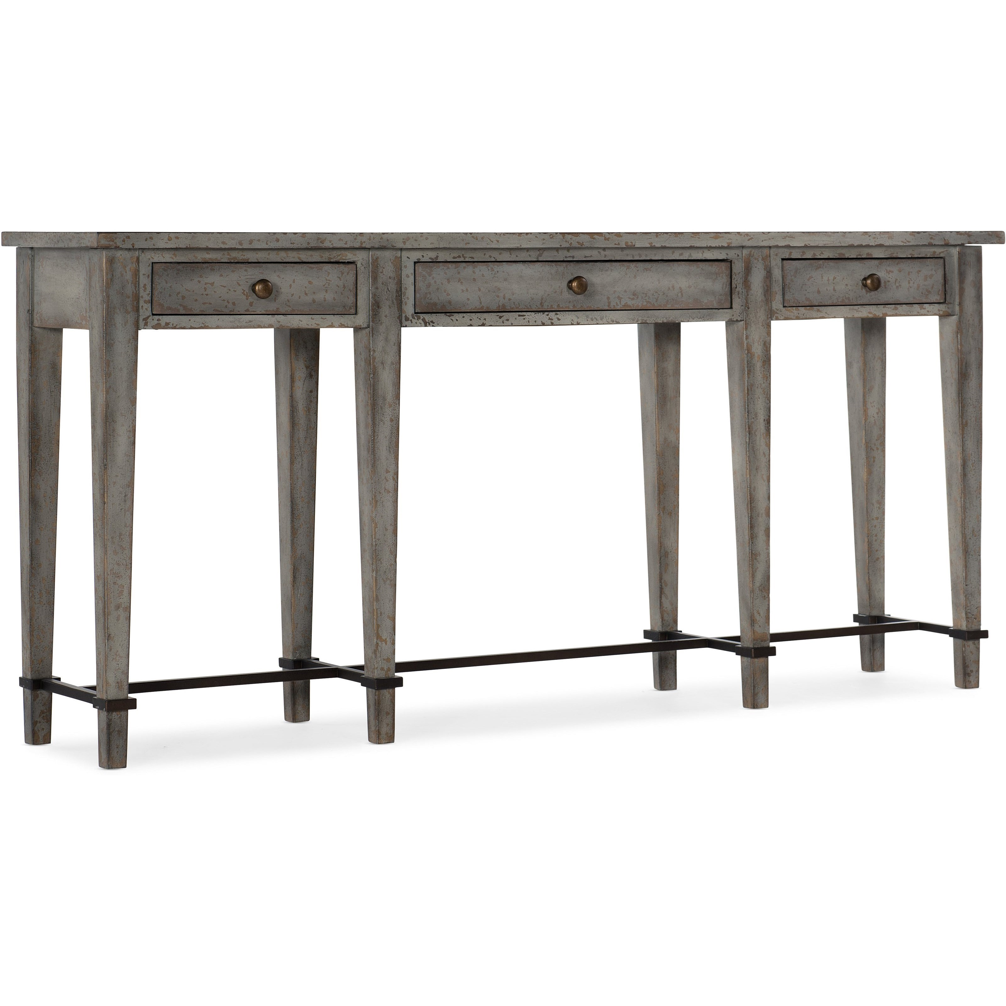 Ciao Bella Narrow Console by Hooker Furniture at Miller Waldrop Furniture and Decor