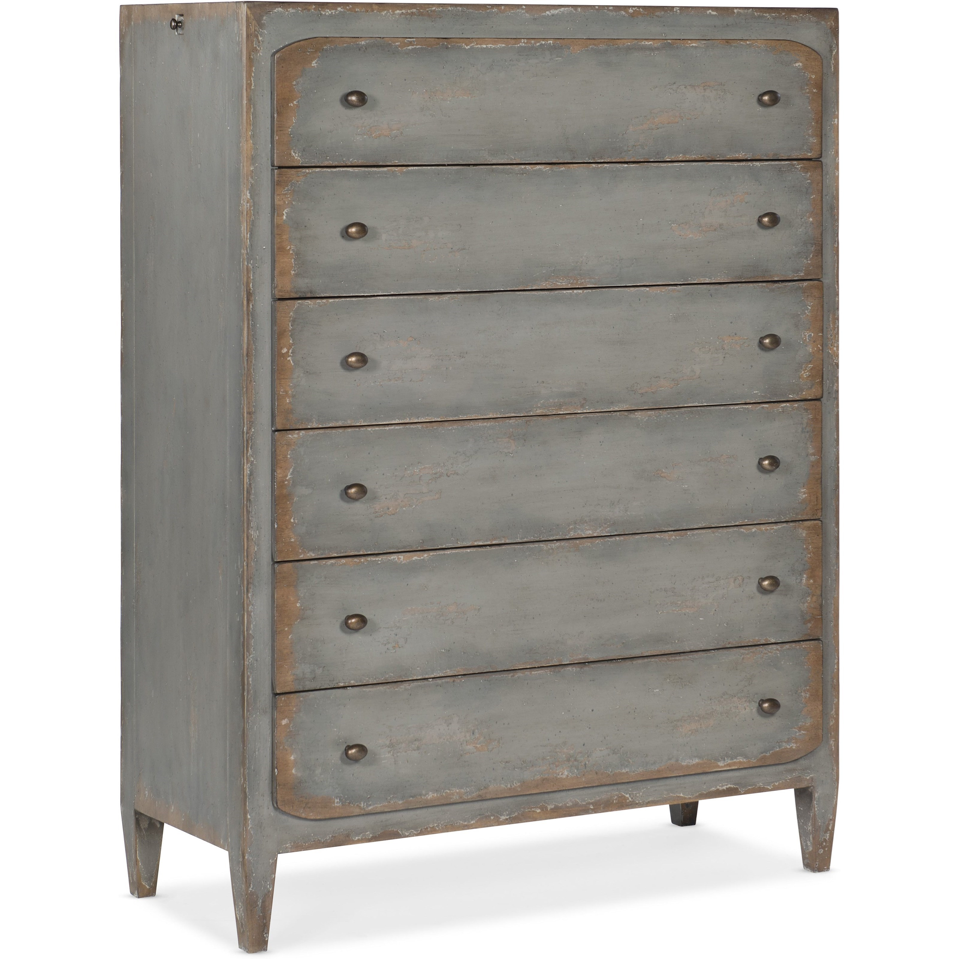 Ciao Bella 6-Drawer Chest by Hooker Furniture at Baer's Furniture
