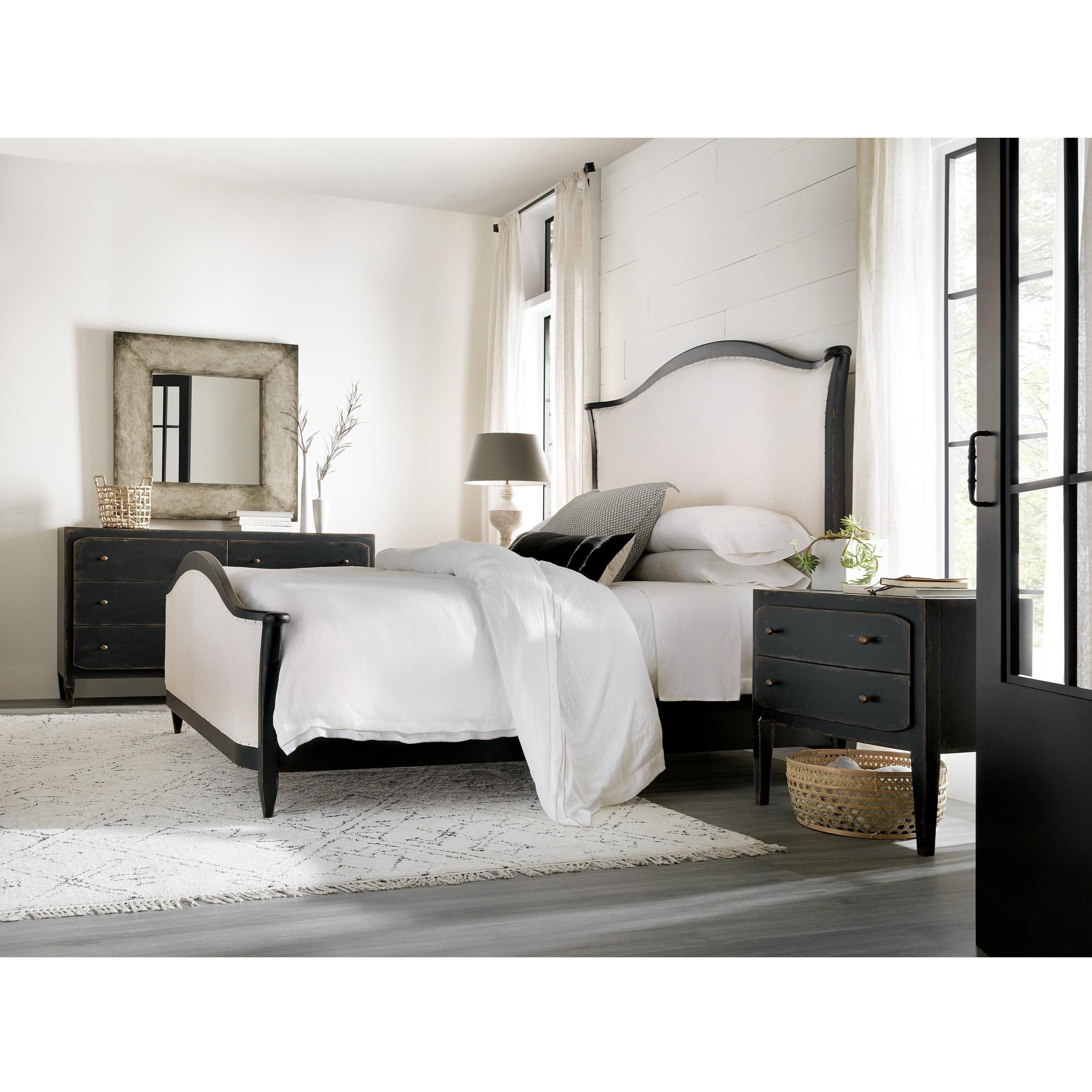 Ciao Bella Queen Bedroom Group by Hooker Furniture at Baer's Furniture