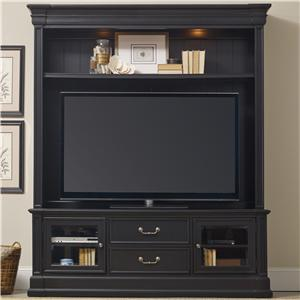 Two Piece Entertainment Group with 2 Drawers