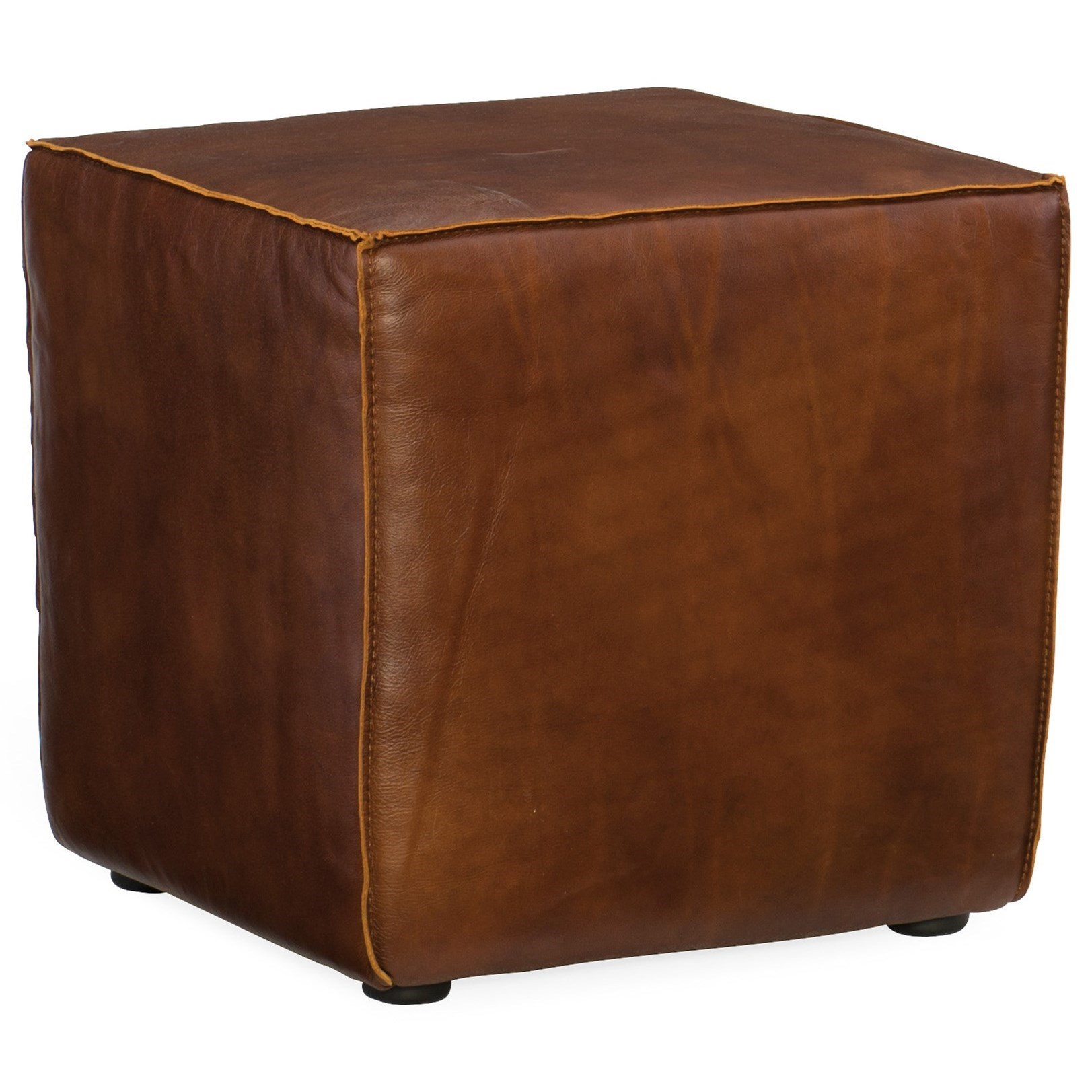 CO39 Quebert Cube Ottoman by Hooker Furniture at Miller Waldrop Furniture and Decor