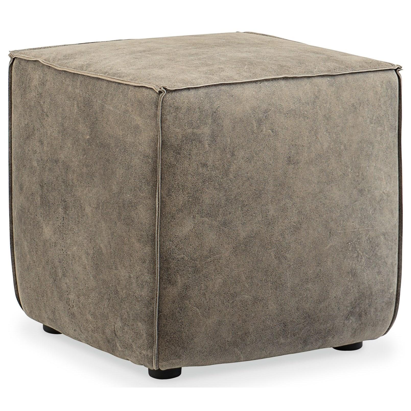 CO39 Quebert Cube Ottoman by Hooker Furniture at Baer's Furniture