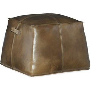 Birks Large Leather Ottoman