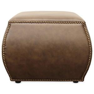 Cordova Leather Ottoman