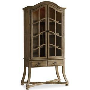 Display Cabinet with Touch Lighting