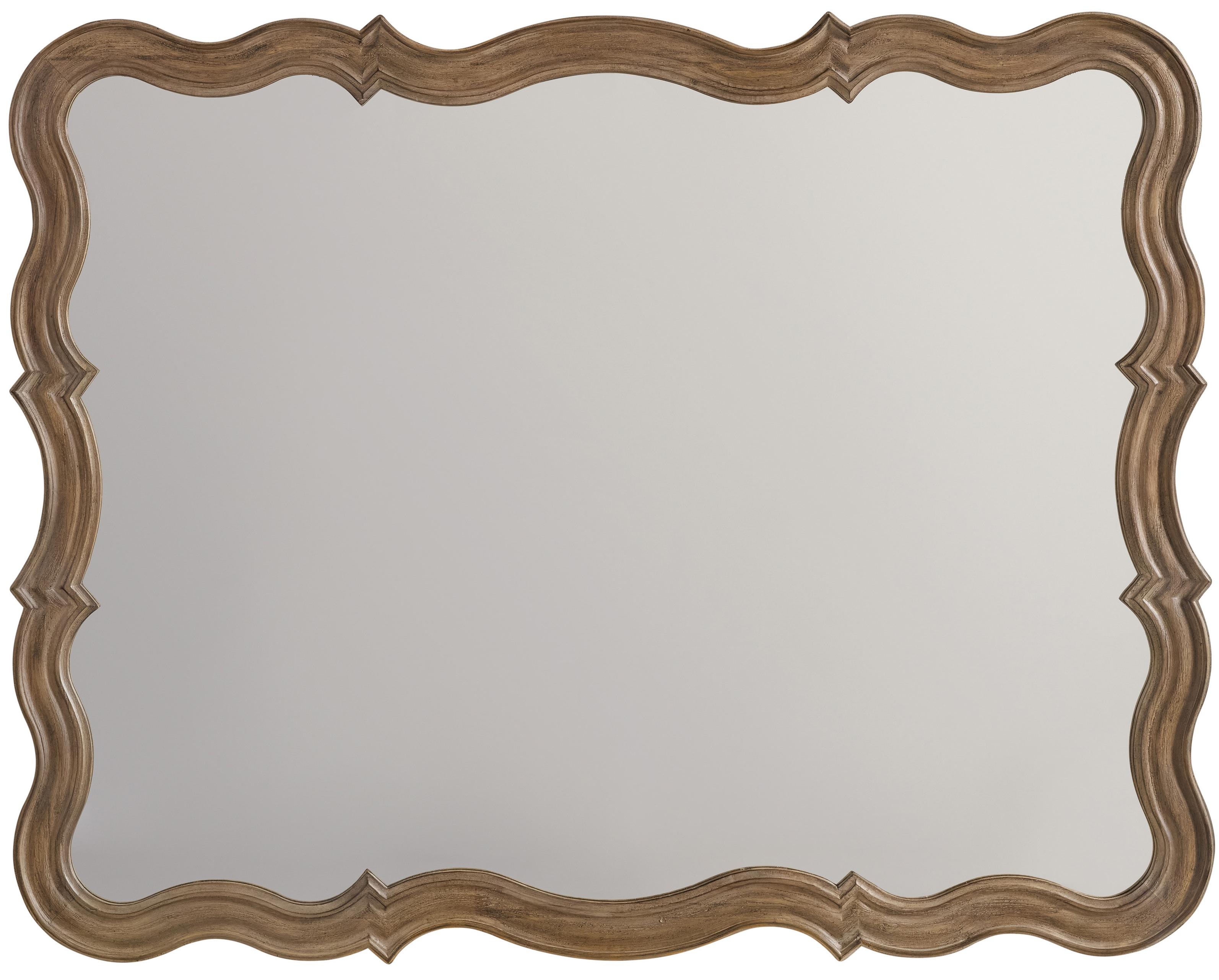 Corsica Mirror by Hooker Furniture at Miller Waldrop Furniture and Decor