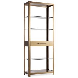 Modern Open Bookcase