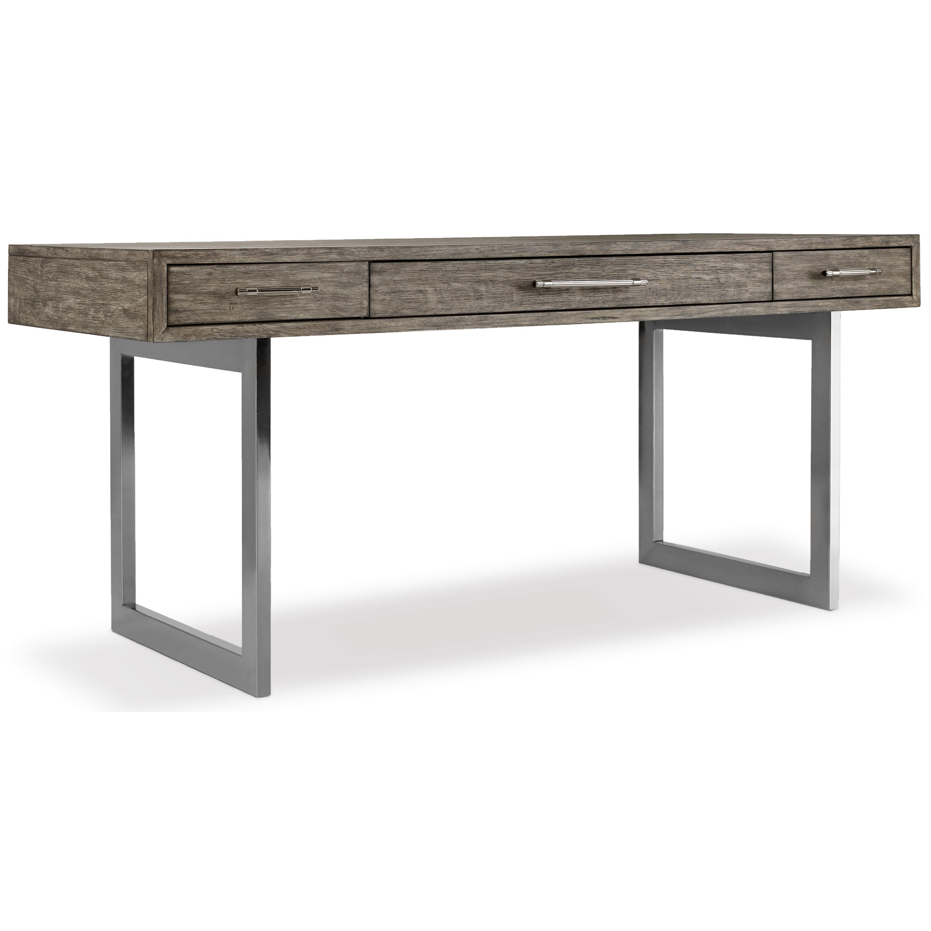 Curata Modern Wooden Writing Desk by Hooker Furniture at Miller Waldrop Furniture and Decor