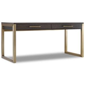 Short Modern Wooden Writing Desk