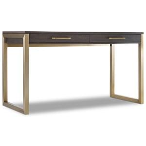 Tall Modern Wooden Writing Desk