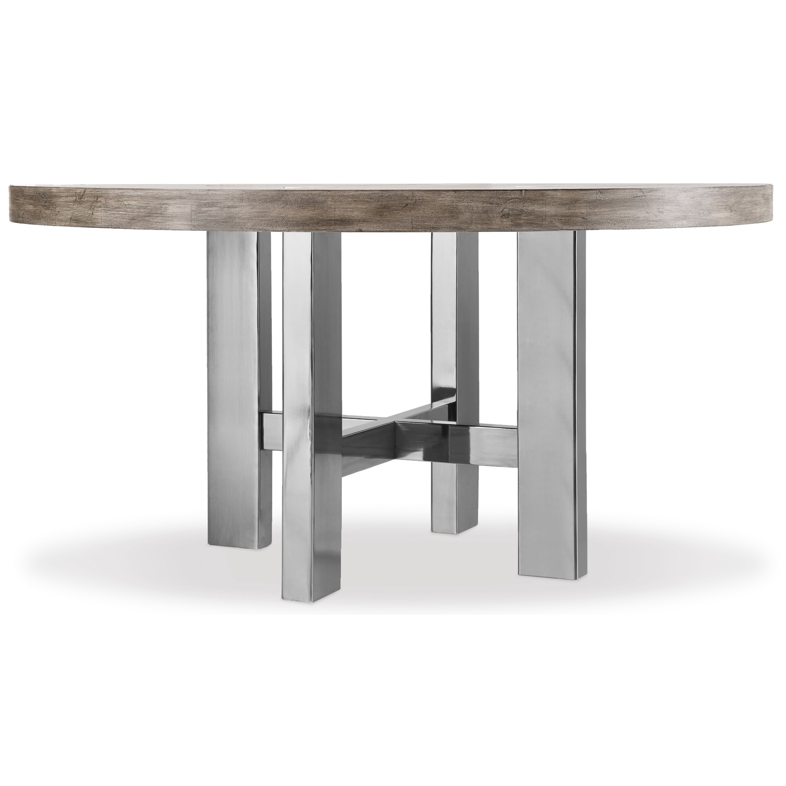 Curata Modern Round Dining Table by Hooker Furniture at Baer's Furniture