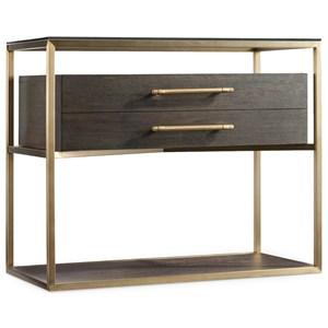 One-Drawer Modern Nightstand