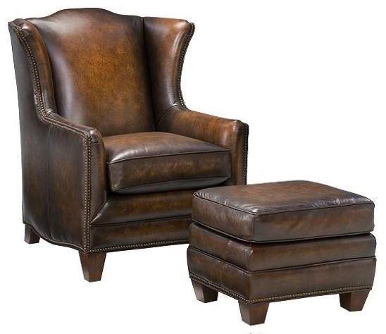 Declan Chair and Ottoman by Hamilton Home at Sprintz Furniture