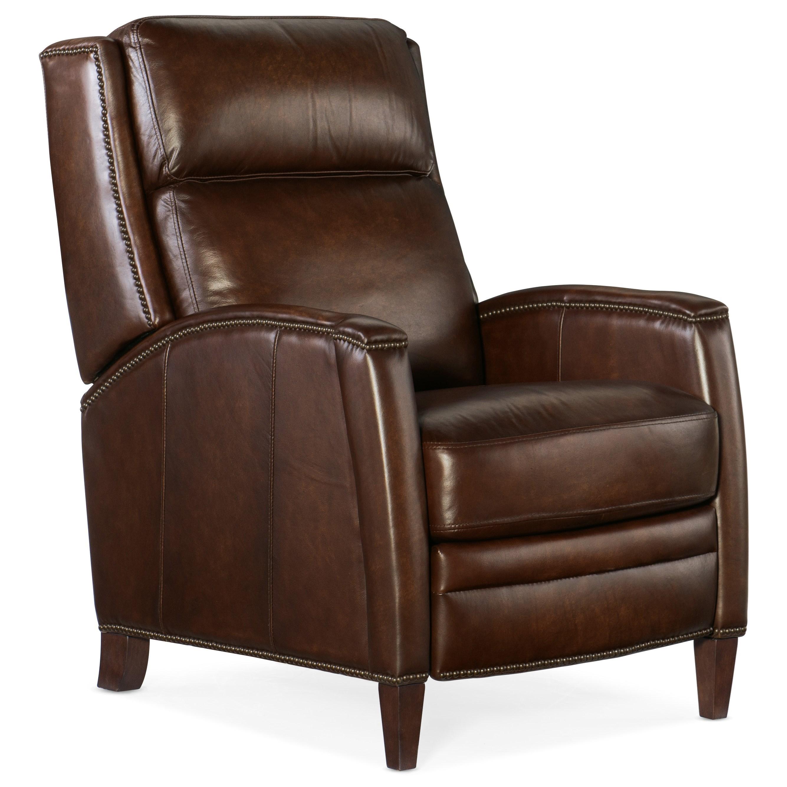 Declan Manual Push Back Recliner by Hooker Furniture at Mueller Furniture