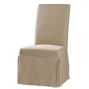 Clarice Skirted Slip Chair